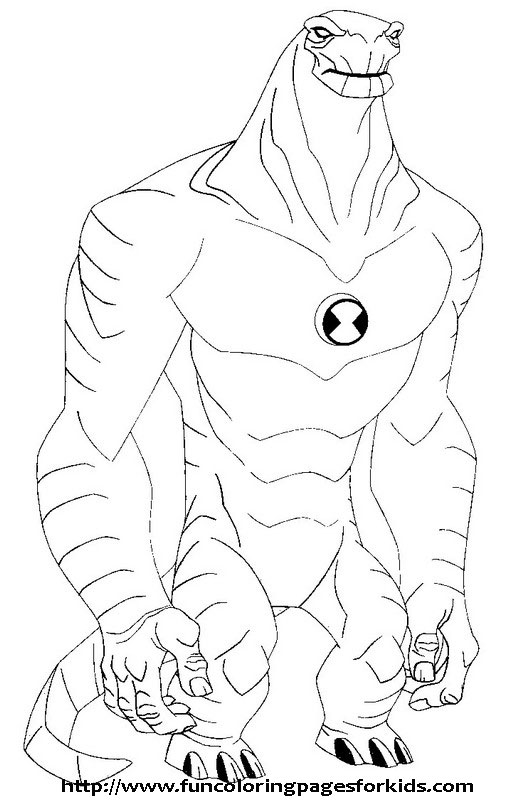 Ben 10 Gravattack Coloring Pages Related Keywords