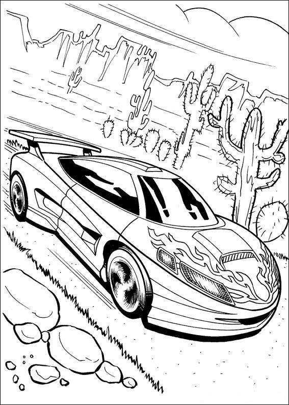 Koloroi Hot Wheels   Samochody Do Drukowania I Maloi