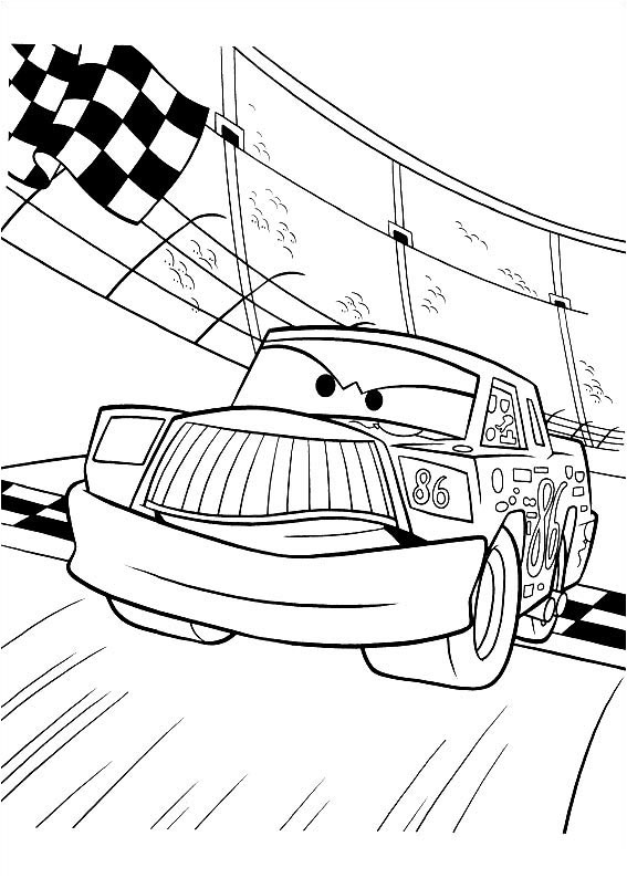 speed mcqueen coloring pages - cars 2 malowanki do wydrukowania zygzak mcqueen auta zomek