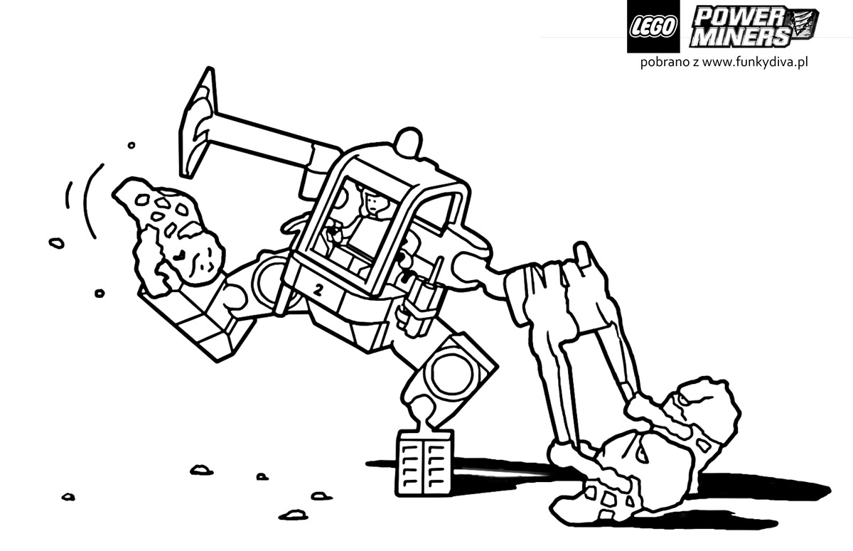 Free Coloring Pages Of Lego Trucks