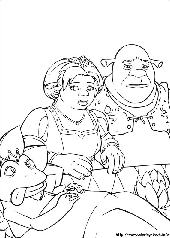 shrek dragon coloring pages - photo#22