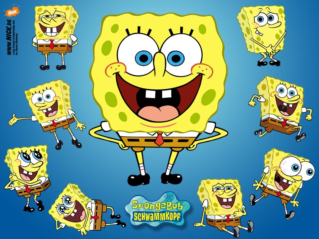 Sponge Bob Kanciastoporty Tapety Na Pulpit Dla Dzieci  16