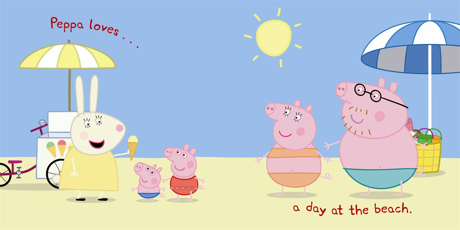 Free Coloring Pages Of Peppa Pig Picnic