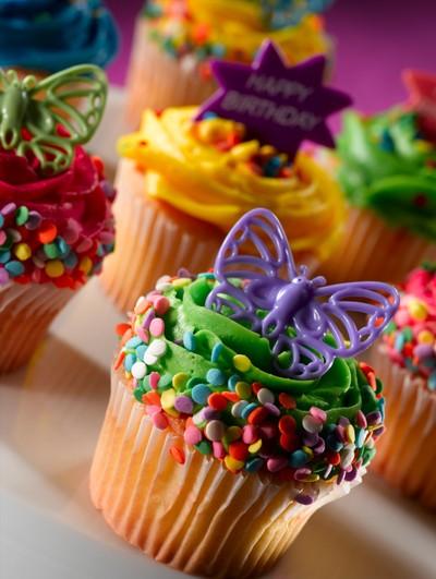 cool birthday cupcake ideas