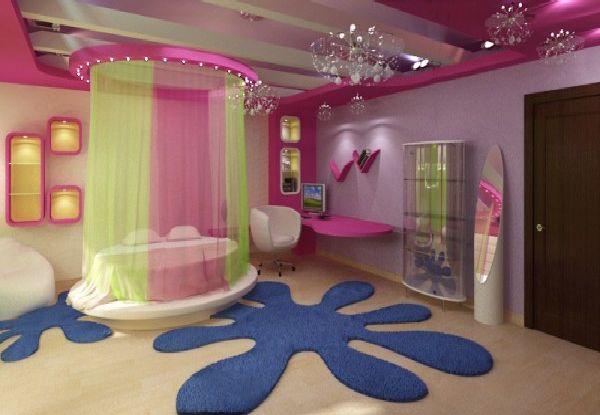 Pokój dla nastolatki c d FD ~ Quarto Personalizado Hippie