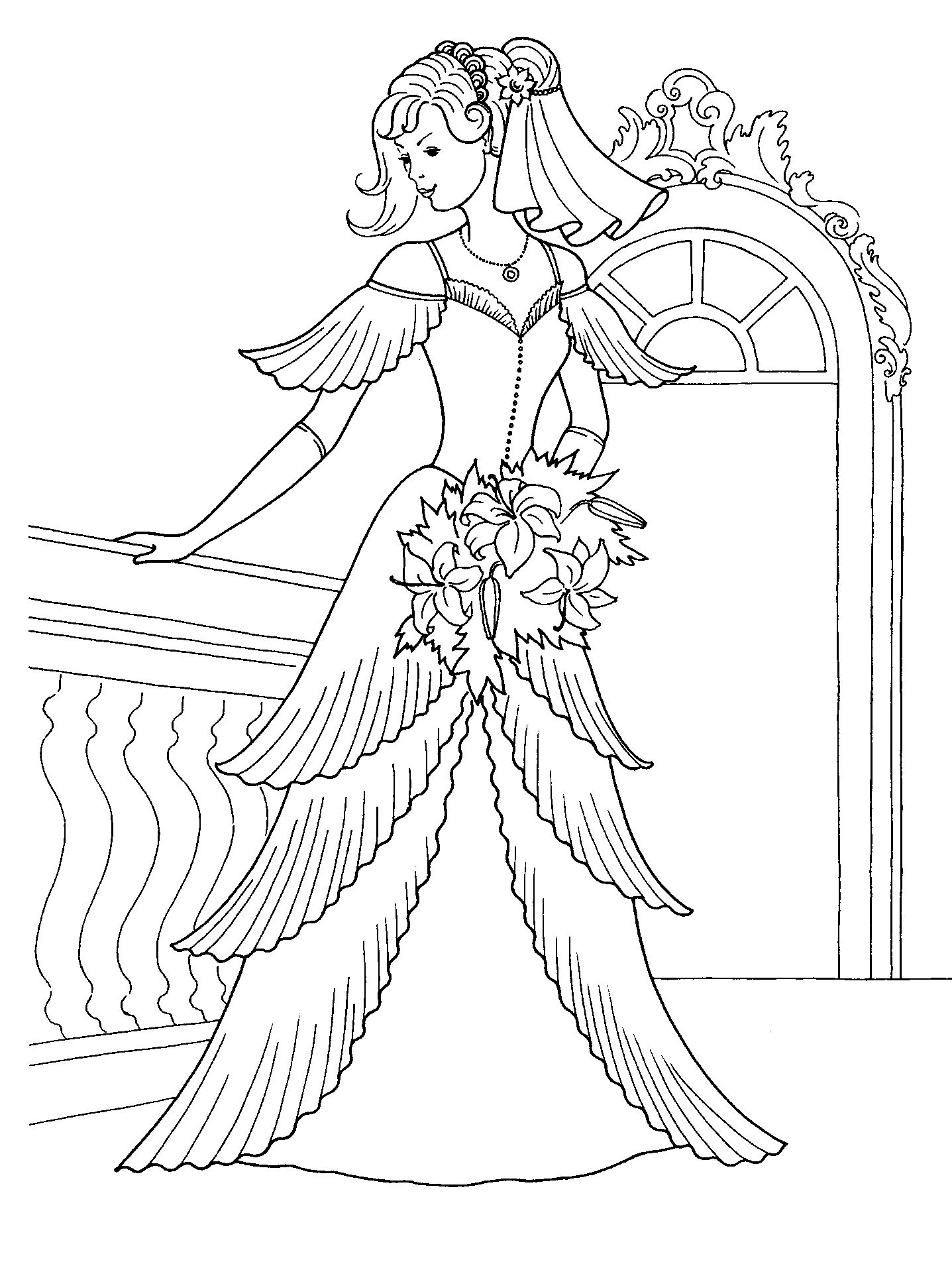 Princess Pictures Coloring Pages Coloring Pages Coloring Pages Of Princess Dresses Free Coloring Sheets