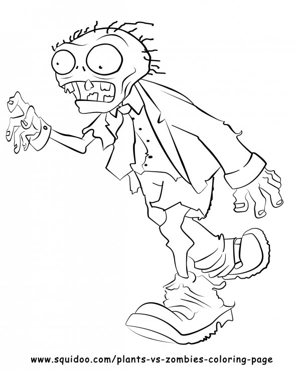 Plants Vs Zombies Chomper Coloring Pages Coloring Pages Plants Vs Zombies Coloring Pages