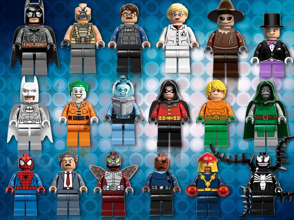 Nowa seria minifigurek lego super heroes została zaprezentowana w san