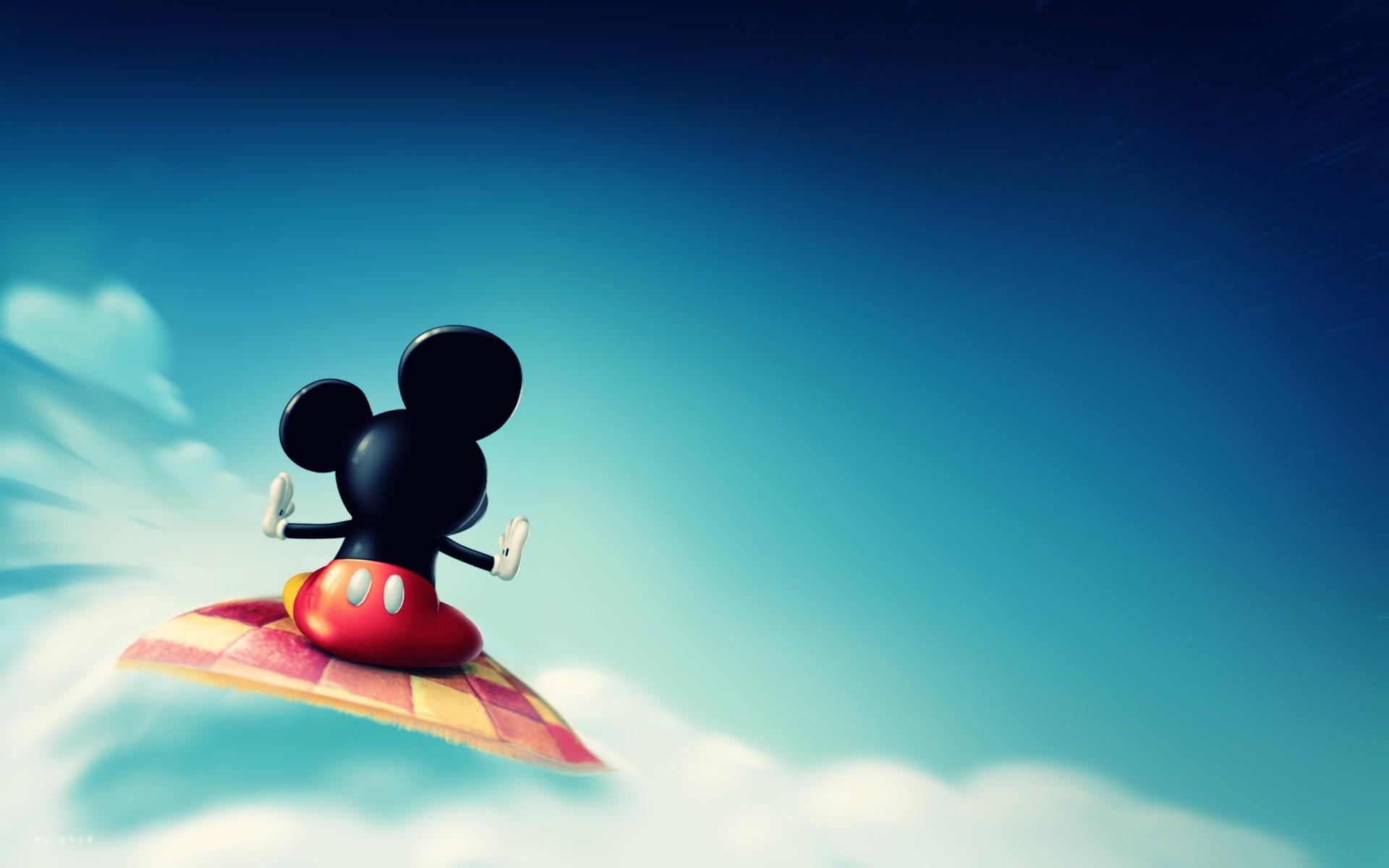 Myszka Mickey - tapety na pulpit - FD