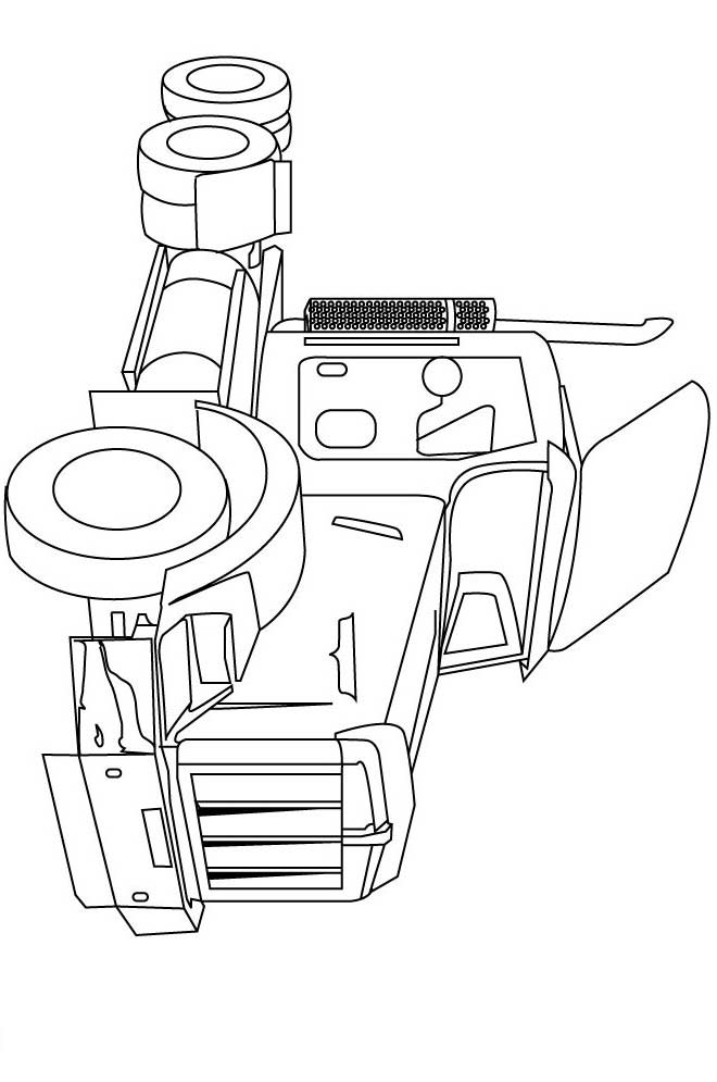 Big Truck With Trailer Coloring Pages Coloring Pages Big Trucks Coloring Pages