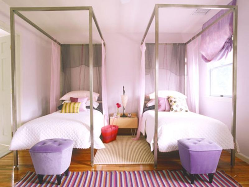 дизайн комнаты для двух девочек подростков фото