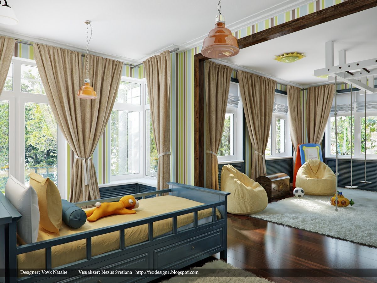wietny pok j dla energicznego ch opca fd. Black Bedroom Furniture Sets. Home Design Ideas