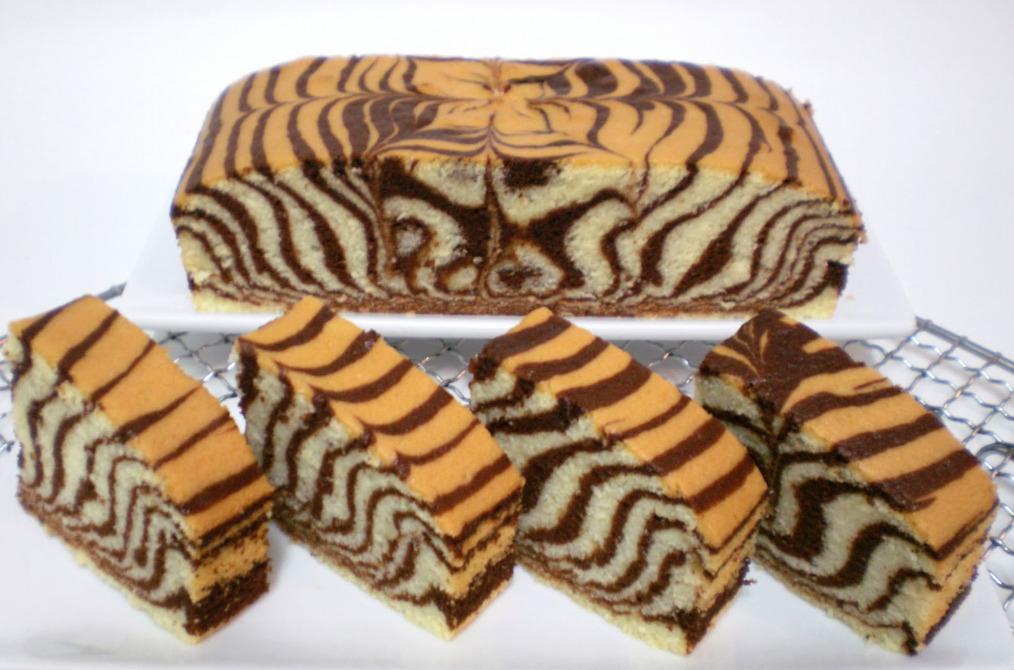 Zebra Torte Cake Recipe